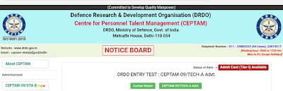 Drdo-admit-card-for-technician