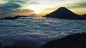 Country Above the clouds, curious new holiday destinations in Lebak Banten