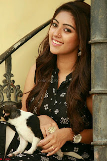 Anu Emmanuel with her pet dog cute pics 1