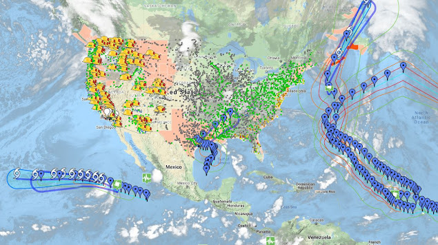 Google Crisis Map Layers