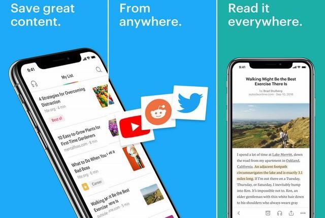 Pocket - تطبيقات التعليم عن بعد