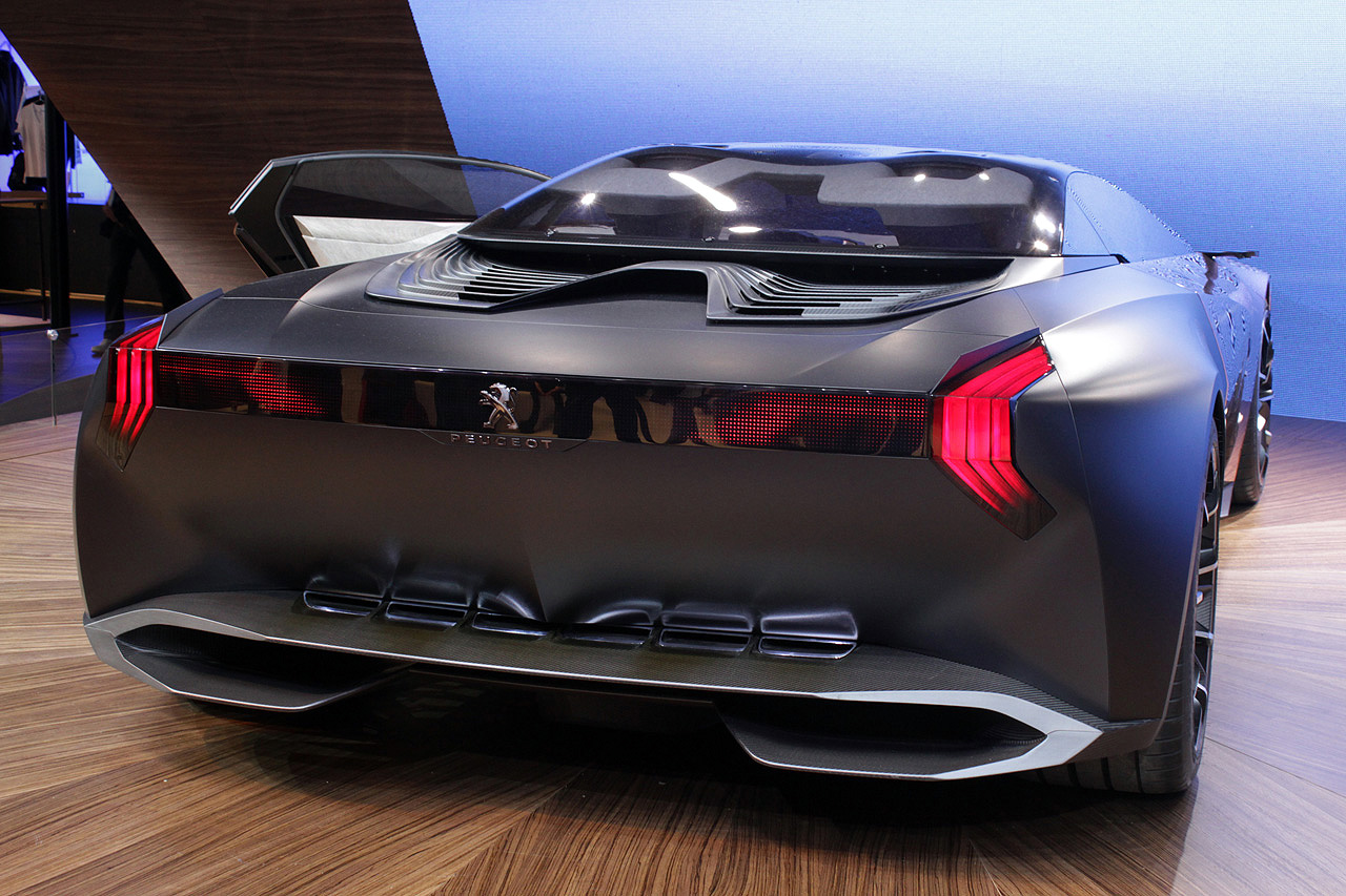 FAB WHEELS DIGEST (F.W.D.): 2012 Peugeot's Onyx Hybrid