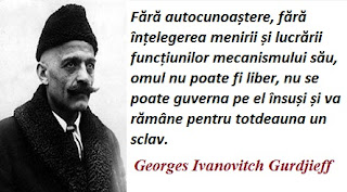 Maxima zilei: 13 ianuarie - Georges Ivanovitch Gurdjieff