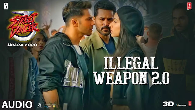 Jasmine Sandlas - Illegal Weapon 2.0 Lyrics | Street Dancer 3D