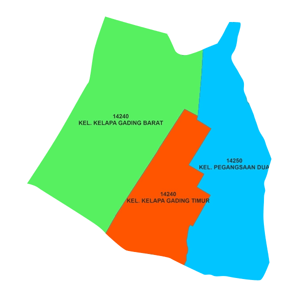 Peta Kelapa Gading