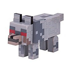 Minecraft Series 3 Wolf Overworld Figure