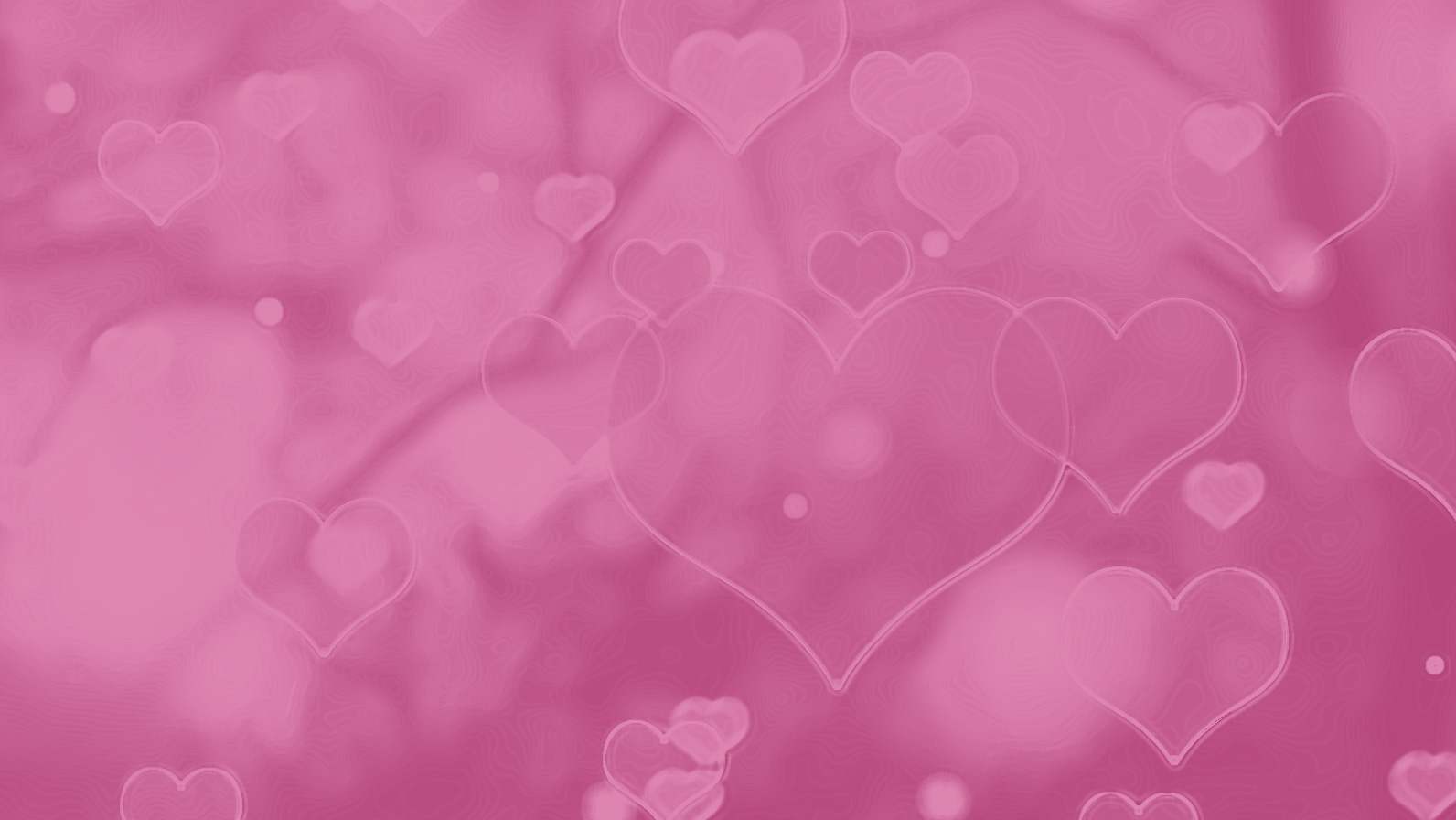 Light Subtle pink hearts background for presentation text