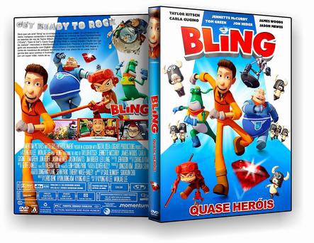 Bling Quase Heróis - DVD-R