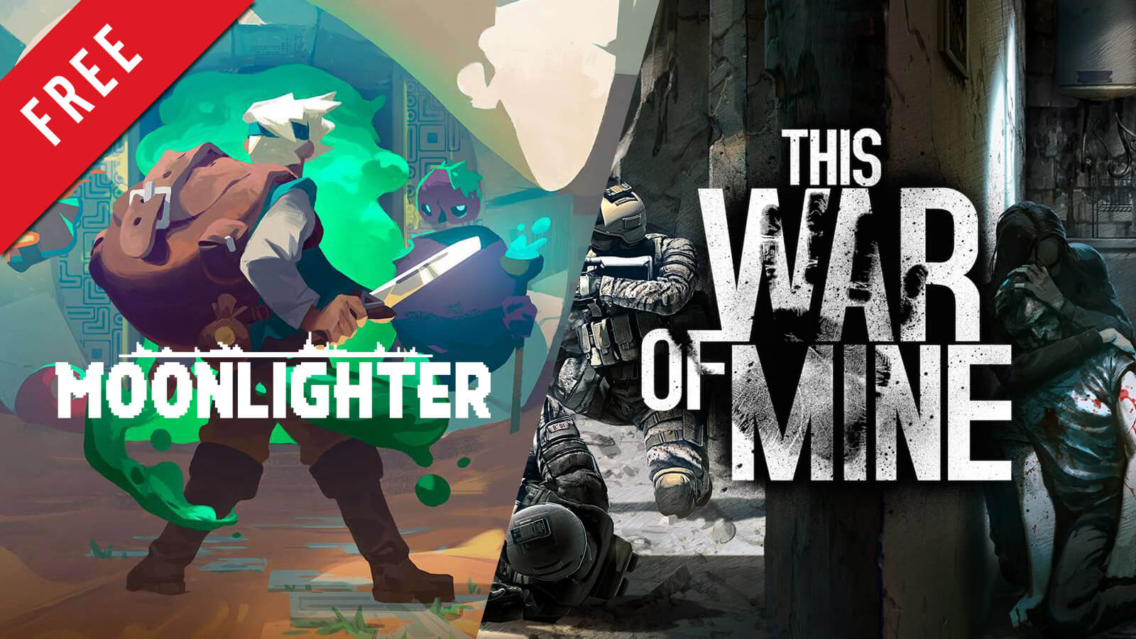 Moonlighter and This War of Mine Free on Epic Games Store Now