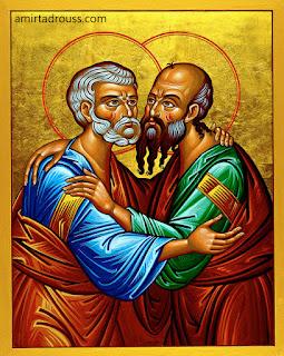 القديسين بطرس وبولس الرسولين
