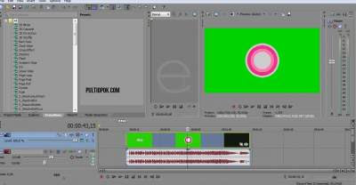 Cara Menghilang Video Background Hijau di Sony vegas