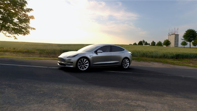 Tesla Launches New Model 3