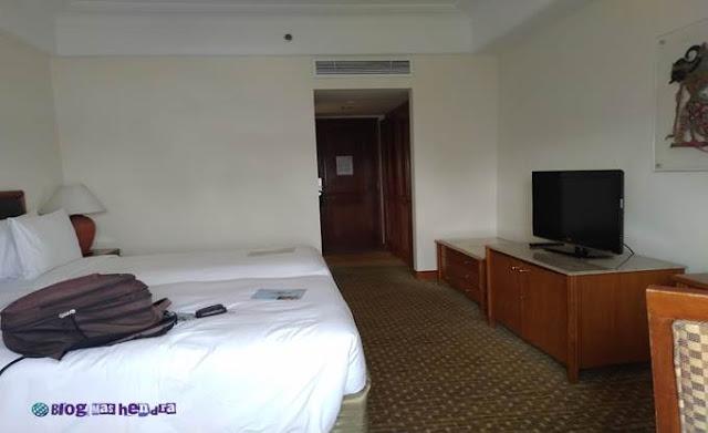 Interior Kamar di Hotel Aryaduta Jakarta