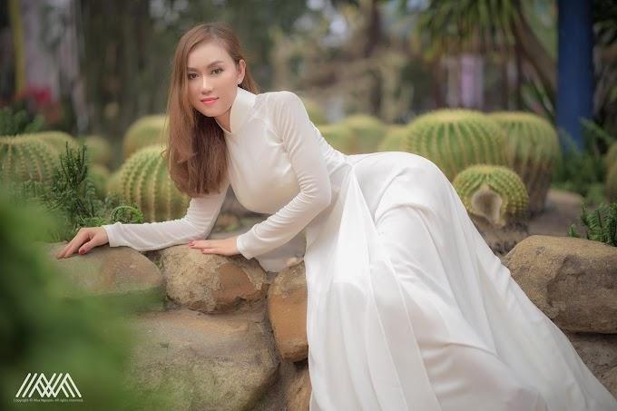 Tuyển tập girl xinh gái đẹp Việt Nam mặc áo dài đẹp mê hồn #102