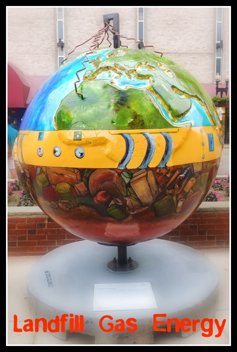 The Cool Globes en Boston: Landfill Gas Energy