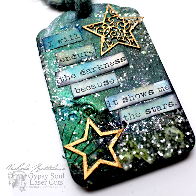 Starry Tags with tutorial - Nichola Battilana pixiehill.com gslcuts.com