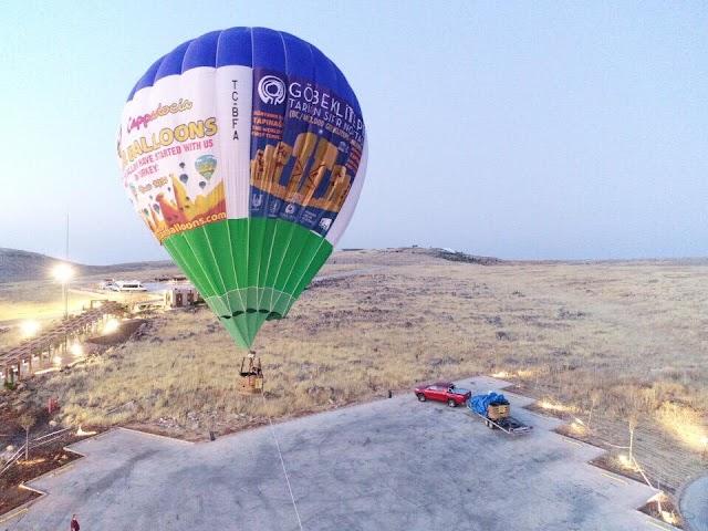 Urfa'da artık balonlar uçacak