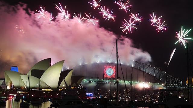New Years Celebrations Sydney Harbour Bridge