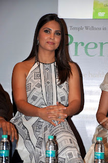 Lara Dutta at Launching of her 'Prenatal Yoga' DVD