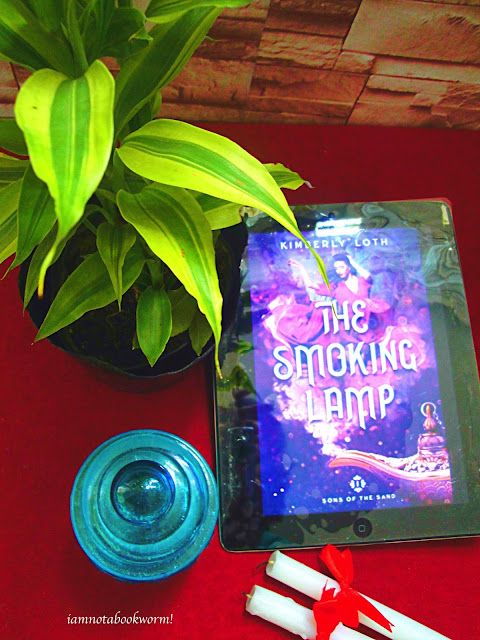 The Smoking Lamp (Sons of the Sand #1) by Kimberly Loth | ARC | A Book Review by iamnotabookworm!