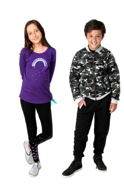moda invierno 2017 camperas de niños