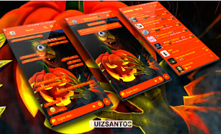 Halloween Theme For YOWhatsApp & GB WhatsApp By Luiz Santos