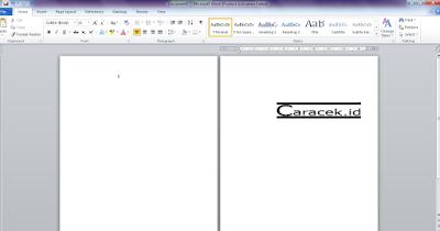 Cara Menambahkan Halaman Kosong di Microsoft Word