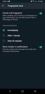 Cara mengunci WA (Whatsapp) agar tidak bisa dibuka orang lain