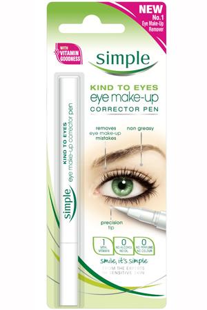 Simple eye makeup corrector pen