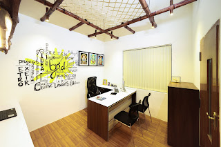 Bamboo Ceiling Commercial Interior Design