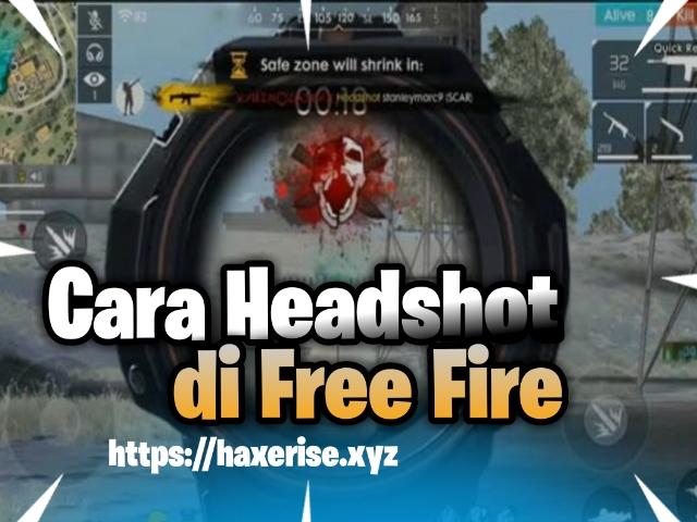 cara headshot di free fire