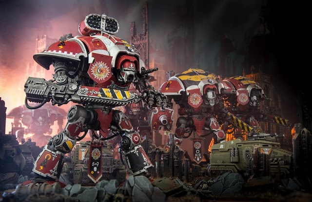Imperial Knights Preview: Warlord Traits, Artefacts, and Freeblades