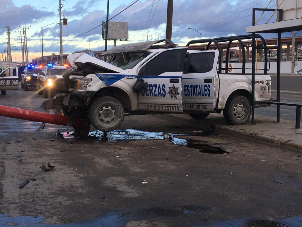 Sicarios atacan a Policías Estatales en Ciudad Juárez, hay 3 elementos heridos