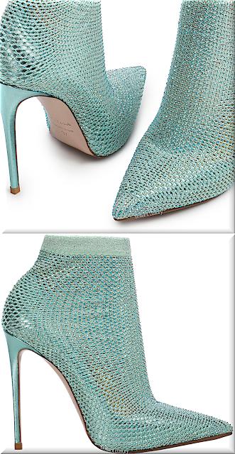 Le Silla Gilda blue marine crystals sock pump #lesilla #shoes #brilliantluxury