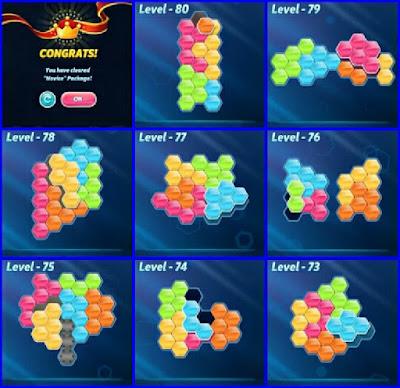 Block! Hexa Puzle Level 73-80