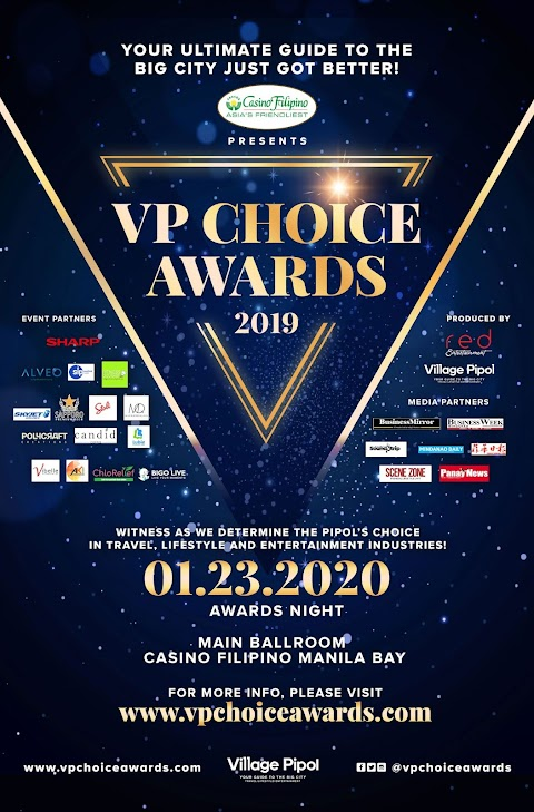 Casino Filipino, RED Entertainment, Village Pipol join forces for VP Choice Awards 2019