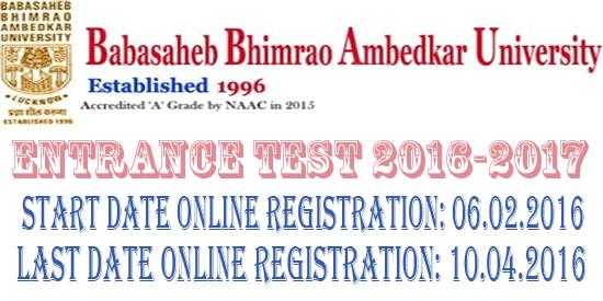 BBAU Entrance Test 2016