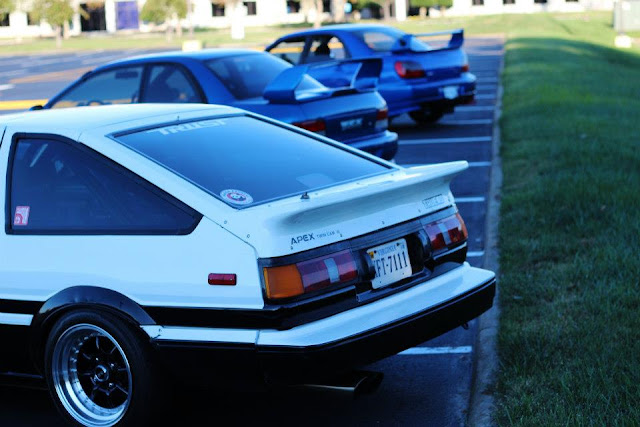 Shifted Marks Ae86