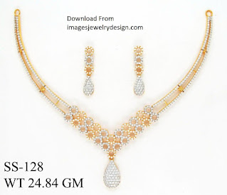 What is necklace set designs images