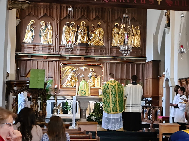 Mass in Leigh-on-Sea, Sunday 1st August 2021