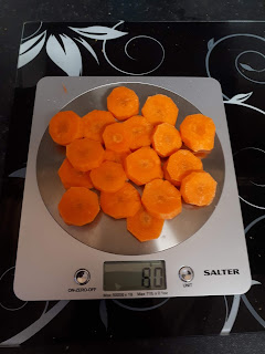 One portion of carrot (80 grams)