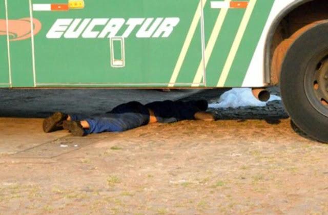 Mecanico da Eucatur de Ji-Paraná tem cabeça esmagada por ônibus enquanto trabalhava, em Vilhena