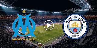 مشاهدة مباراة مارسيليا ومانشستر سيتي بث مباشر بتاريخ 27-10-2020 في دوري أبطال أوروبا