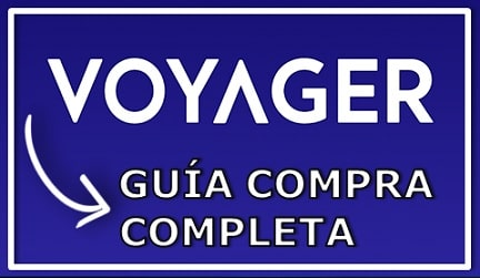 Comprar y Guardar en Monedero Criptomoneda Voyager