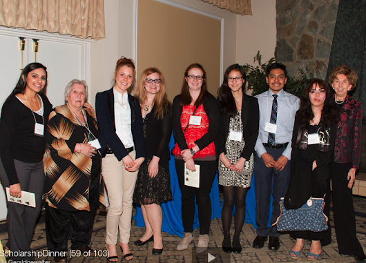 The UCLA FWC Scholarship Program and Dinner 2014