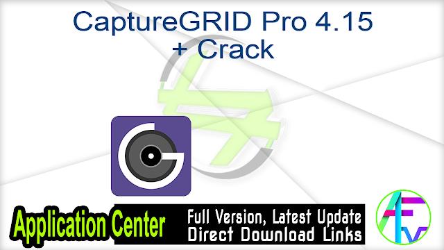 CaptureGRID Pro 4.15 + Crack