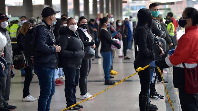 314 muertos por el covid 19 en Colombia, hoy murieron 21 personas