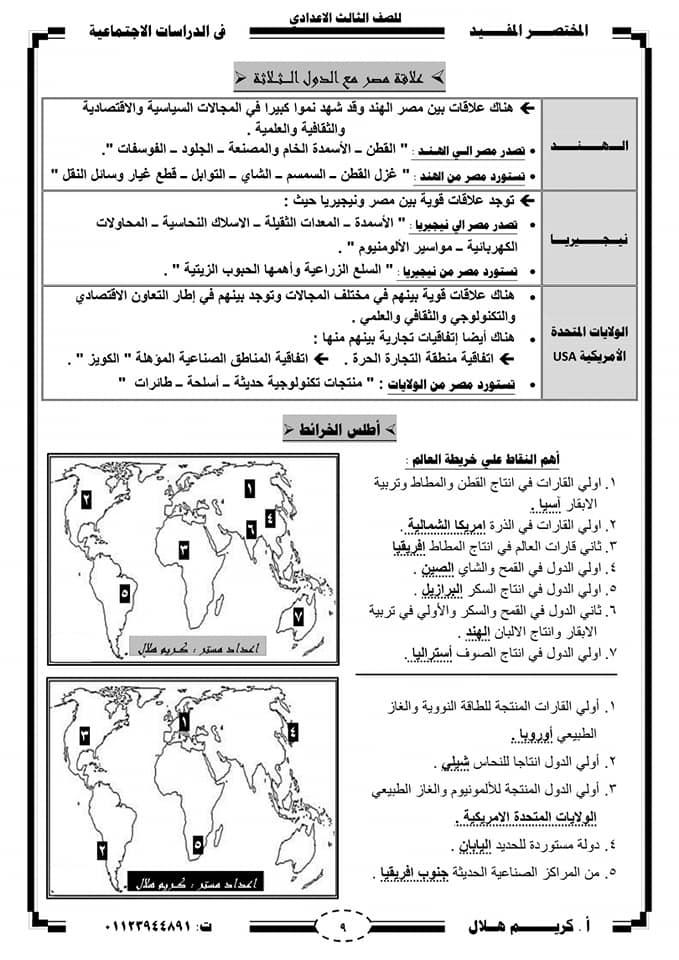 الوسم الجغرافيا على المنتدى مدرس اون لاين 9