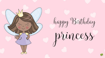 Birthday Messages for a Little Princess