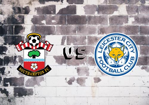Southampton vs Leicester City  Resumen y Partido Completo